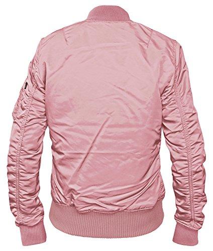 Silver 1 Blouson Alpha Tt Pink W Industries Ma pSqnxwYRF1