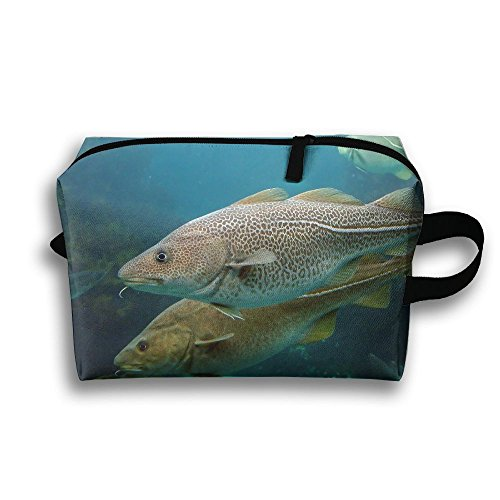 Cod Animal Natural Scenery Travel / Home Use Storage Bag, Blanket Storage Space, Space Saver Recycling Bags, Organizers Pouch Set by JIEOTMYQ