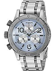 Nixon Womens 38-20 Chrono Quartz Stainless Steel Watch, Color:Silver-Toned (Model: A4042363-00)