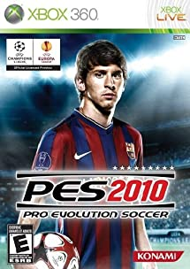 Pro Evolution Soccer 2010 - English version - Xbox 360     - Amazon com