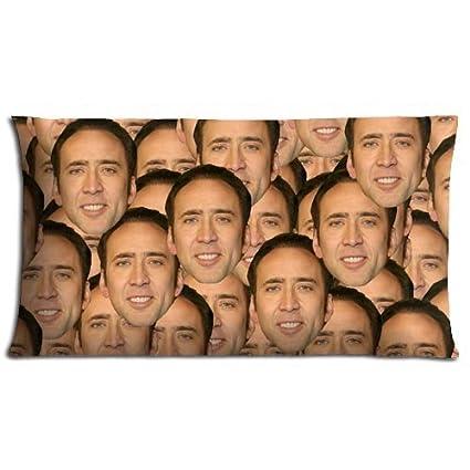 Nicolas Cage con cremallera fundas de almohada de Caso de ...
