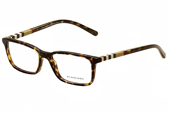 dff7814db4 BURBERRY BE 2199 Eyeglasses 3002 Havana 53-17-145  Amazon.co.uk ...