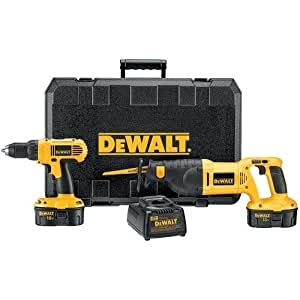 Dewalt 18v Cordless Drill And Reciprocating Saw Kit