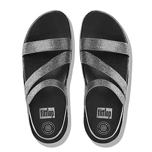 Sandales Strap Crystall Z étain Fitflop de 0dwqH0T