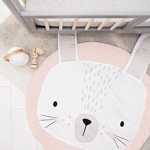Omiky® Cartoon Baby Infant Creeping Matte Playmat Blanket Spiel Spiel Mat Room Dekoration Rosa
