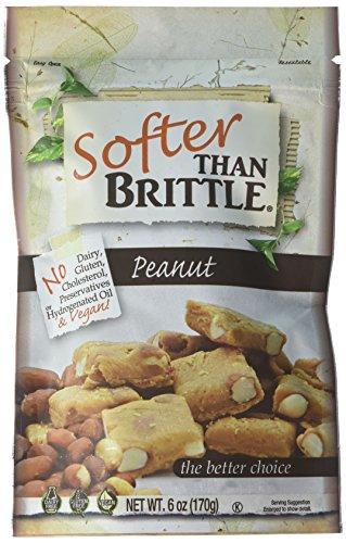 Gourmet Peanut Brittle - Softer Than Brittle Peanut, 6.00 Ounce