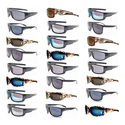 (12 Pairs Men Fashion Designer Retro Vintage UV 100% WHOLESALE LOTS SUNGLASSES)