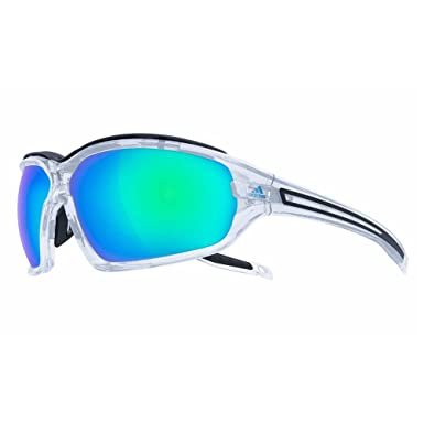 huge selection of 5a963 a462e Adidas Eyewear Evil Eye Evo Pro L Sunglasses - Crystal Shiny FrameBlue  mirror Lens