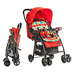 LuvLap Joy Stroller/Pram, Compact and...