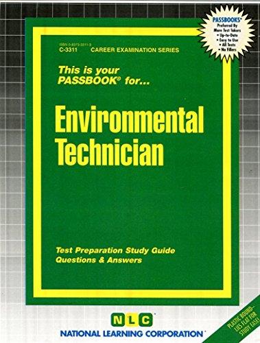 Environmental Technician(Passbooks) (Career Examination Passbooks)