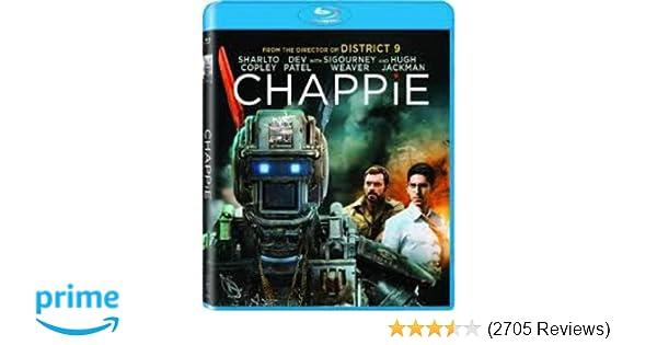 Amazon com: Chappie [Blu-ray]: Hugh Jackman, Dev Patel