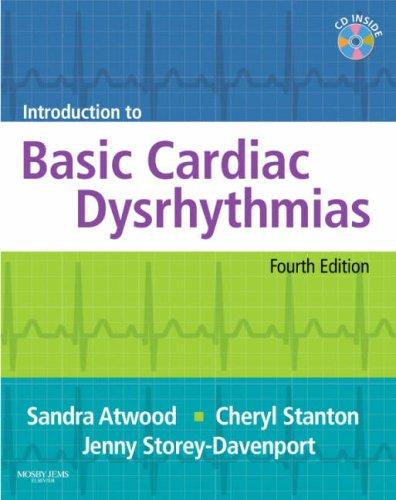 Introduction to Basic Cardiac Dysrhythmias, 4e by Mosby/JEMS