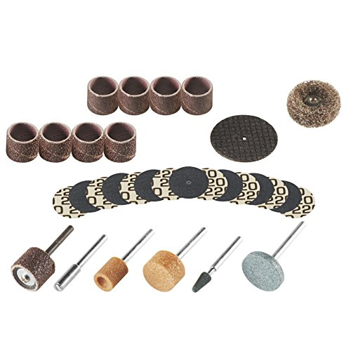 - Dremel Rotary Tool Sanding/Grinding Accessory Set (31-Piece)