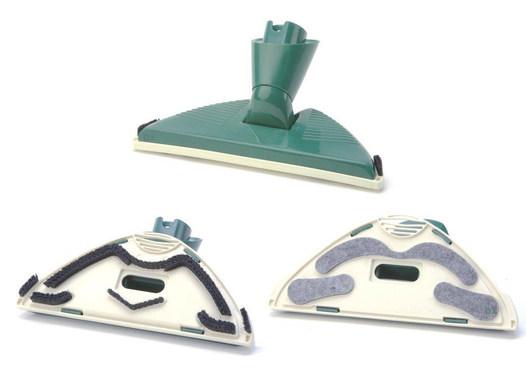 Kobold 130 131 135 136 140 VK150 Con meccanismo a rotazione e Flex fondo bocchetta//Spazzola per aspirapolvere//aspirapolvere bocchetta per Vorwerk-dispositivi con attacco ovale