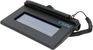 Topaz SigLite T-S460 Serial Electronic Signature Capture Pad T-S460-B-R