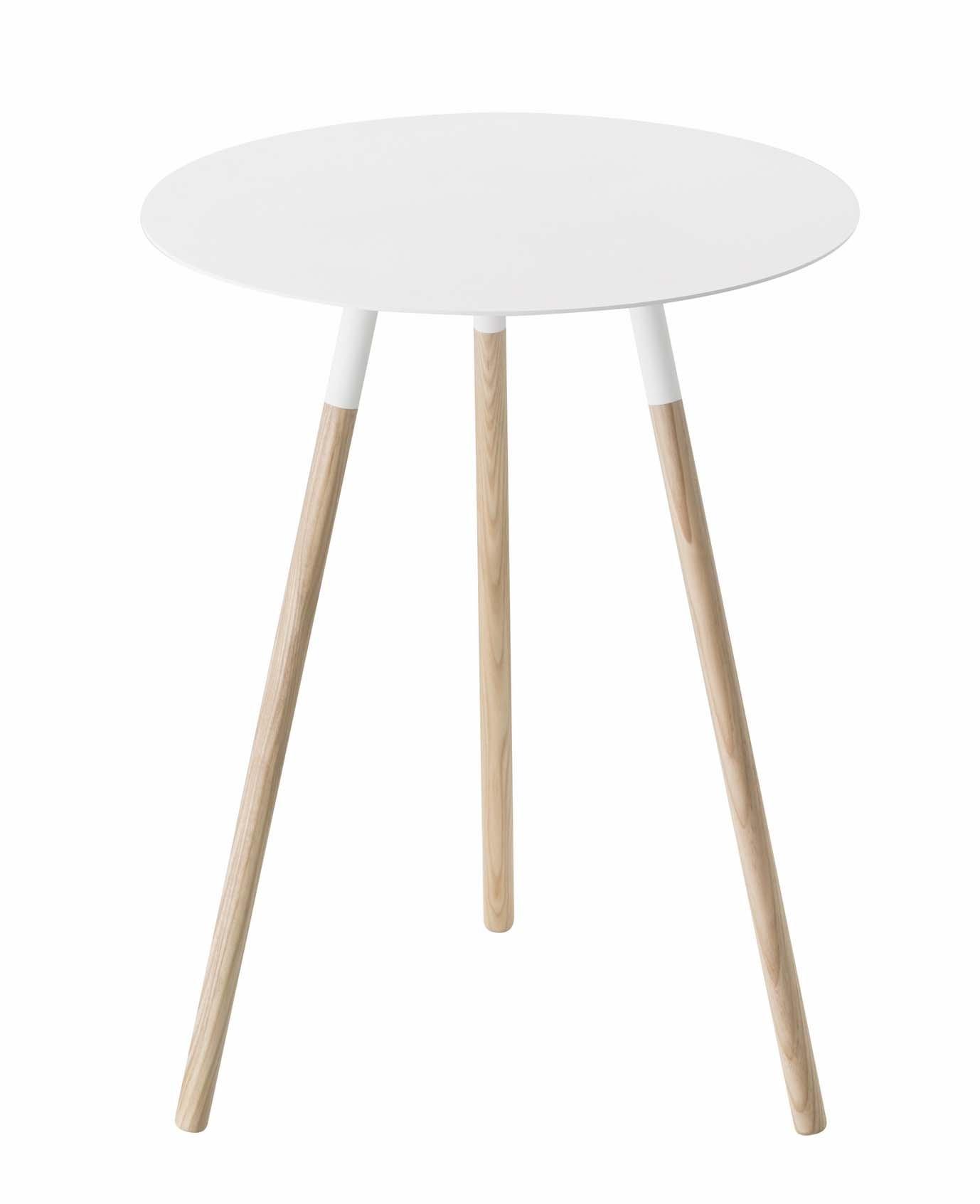 YAMAZAKI home Plain Side Table, White