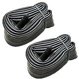 Paddsun Tubes,2 Pcs 20' x1.75/1.95/2.125 Schrader Valve BMX Bicycle Inner Tubes Bike Tube Price! by Street Black