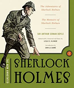 The New Annotated Sherlock Holmes: The Complete Short Stories: The Adventures of Sherlock Holmes and The Memoirs of Sherlock Holmes (Non-slipcased edition)  (Vol. 1)  (The Annotated Books) by [Doyle, Arthur Conan]
