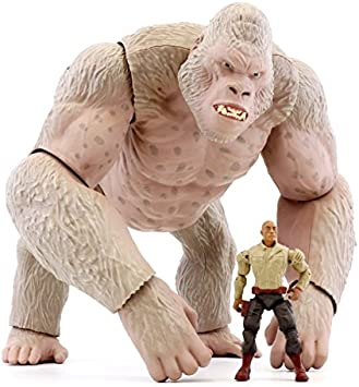 Rampage New The Movie Mega George Figure Include Davis Okoye Action Figure Amazon Co Uk Toys Games