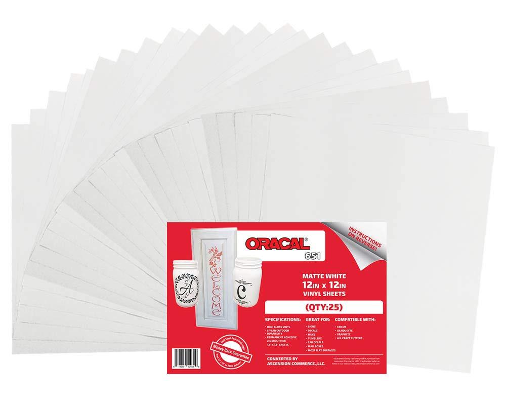 "Scrapbook Vehicle Graphic Oracal 651 Red 10/"" X 12/"" Craft Adhesive Vinyl Sheet"