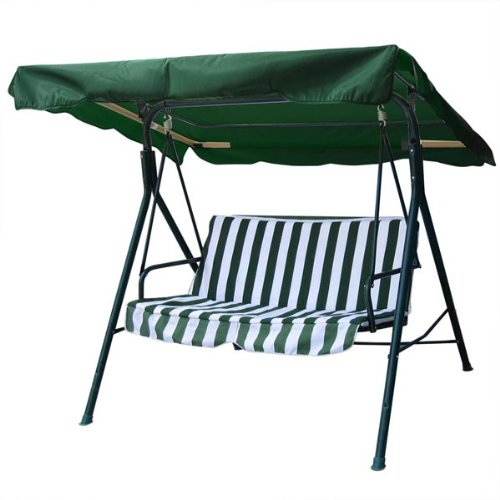 Amazon.com : Heavy Duty Green Polyester Fabric 5½u0027 66 In By 45 In Outdoor Patio  Swing Canopy Replacement Top Cover UV Block Sun Shade Waterproof For Porch  ...
