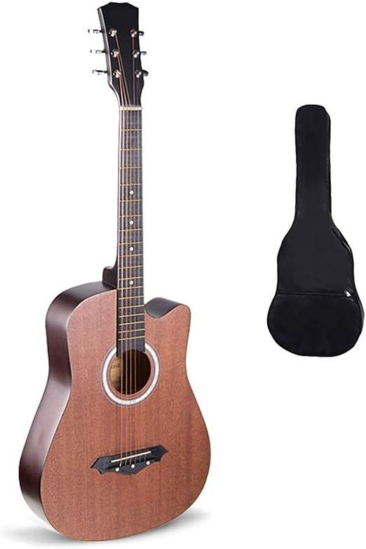 BAIYING-Guitarra Acústica Principiante Guitarra Balada Estudiante ...