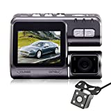Dash Cam, ODGear 2.0'' I1000 720P 120°HD Car Recorder DVR Dashboard Camera with G-Sensor, Super Night View and Motion Detection Loop Recording- Eyewitness On The Road