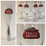Stella Artois 2016 Estate Series Style Tap Handle & 4 33cl Glasses