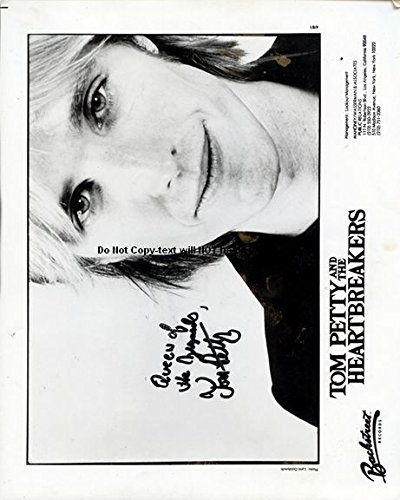 Tom Petty Autographed Preprint Signed 11x14 Poster Photo 1