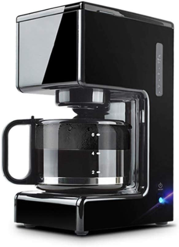 ECSWP Máquina de café del hogar Totalmente de Tipo Goteo automático pequeña Mini Café elaborado Cerveza Hacer té Refleja Hielo Cafetera