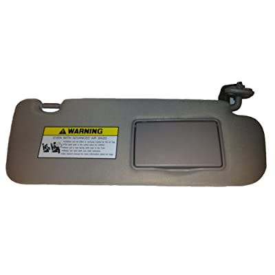 New Genuine 2006-2008 Hyundai Sonata Sun Visor, Passenger Side, Gray w/ Sunroof: Automotive