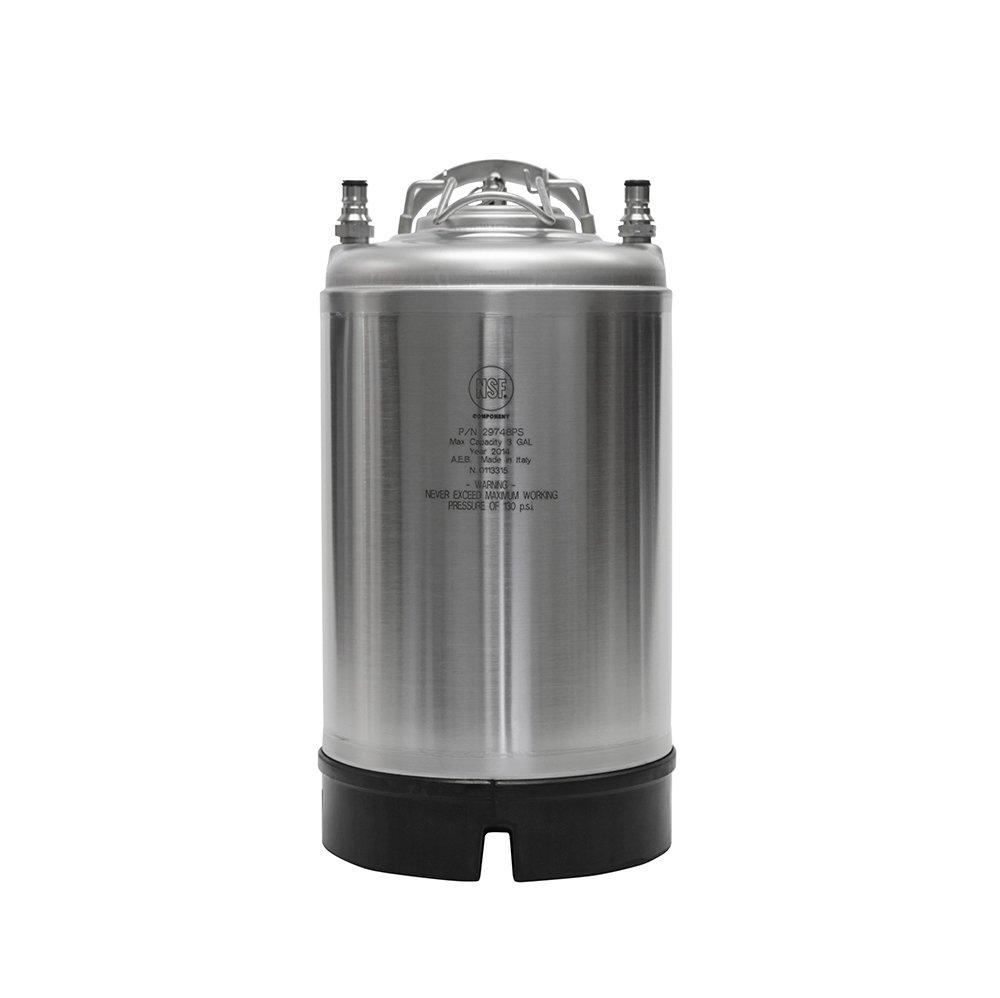 AEB CKN3-SH-AEB New AEB 3 gal Ball Lock Keg - Single Handle