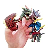 Ginkago Dinosaur Dino Fossil Rings Party Favors Decoration Supplies Jurassic T-REX Finger Toys for...