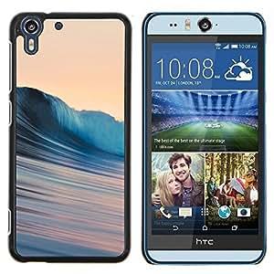 Jordan Colourful Shop - Silky Waves For HTC Desire EYE M910x Personalizado negro cubierta de la caja de pl????stico