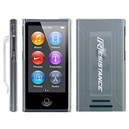 Resistance + iPod Nano 7th Generation Case + iPod Nano 7th & 8th Case - iPod Nano Case with Clip (Clear) - iPod Nano Cases