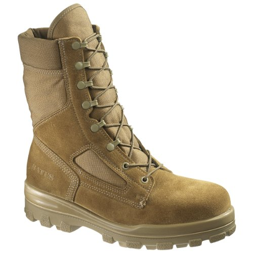 Bates Women's DuraShocks Steel Toe Boot (6.5 M in Olive Mojave)