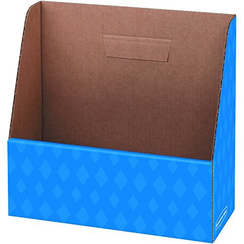 Bankers Box Folder Holder, Letter Size, 11.25 x 12.13 x 5.0 Inches, Blue, 1 Each (3381101) by -