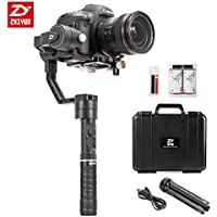 Zhiyun Crane Plus 3-Axis Handheld Gimbal Camera Stabilizer Crane V2 Upgrade Version 5.5Lbs Playload with Timelapse Object Tracking FPV POV Mode MotionMemory for Canon Nikon Sony Panasonic DSLR Cameras