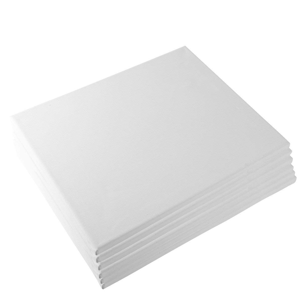 Tosnail 11x14 Stretched Canvas Panels Set - Pack of 6 4336944032
