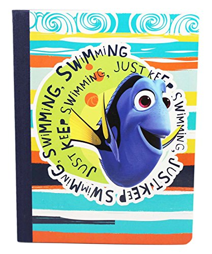 Disney Pixar's Finding Dory Just Keep Swimming Bound Journal -