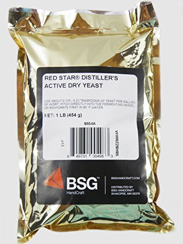 - Distillers Active Dry Yeast - Red Star DADY 1 lb pack