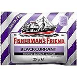 Pastilles Fisherman's Friend Saveur Cassis Menthol avec édulcorants 25g (Pack de 24)