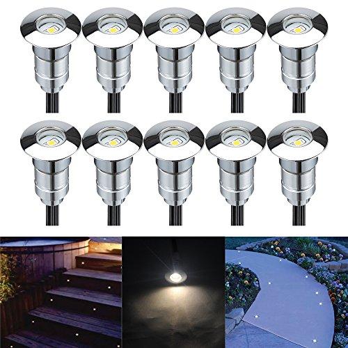 Line Voltage Landscape Lighting Kits : Fvtled pack of outdoor low voltage double line led