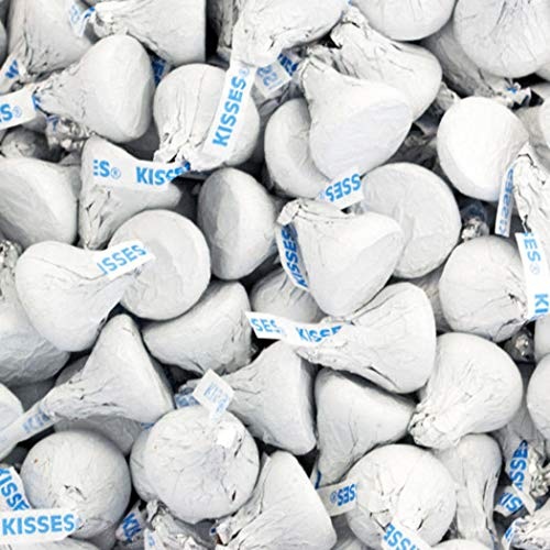 White Hershey's Kisses 1lb (Free Cold Packaging) -