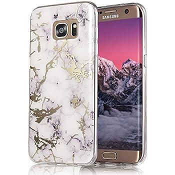 Amazon.com: DAMONDY Galaxy S7 Edge Case,3D Shiny Marble ...
