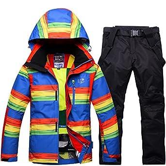 LEIT YFF Chaqueta de esquí Exterior + Pantalones cálido ...
