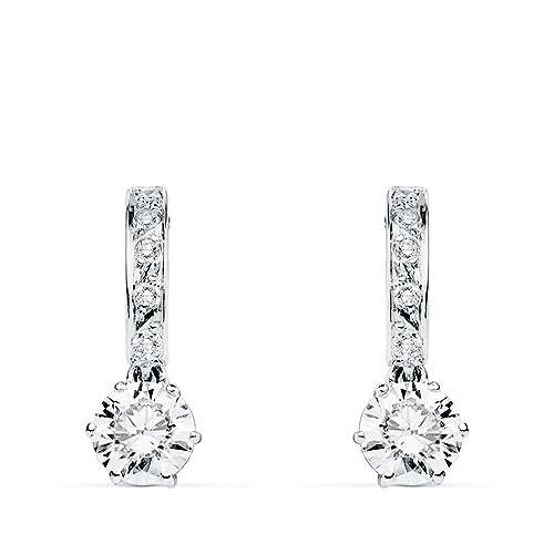 b3462eb9bd24 Pendientes de novia Duquesa d Aiguillon Oro Blanco 9K  Amazon.es ...