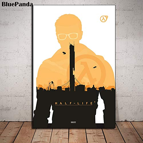 wojinbao Sin Marco Half Life 2 Movie Modern Poster HD Oil Canvas ...