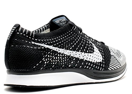 Running Blanco Homme White Flyknit de Black Chaussures NIKE Racer Entrainement Blanco w6TUFxR