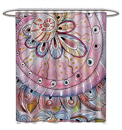Educational Shower Curtains Waterproof Animals Placed on Letter of The Alphabet Teachers Chart Classroom Kindergarten Bathroom Set with Hooks W36 x L72 Multicolor